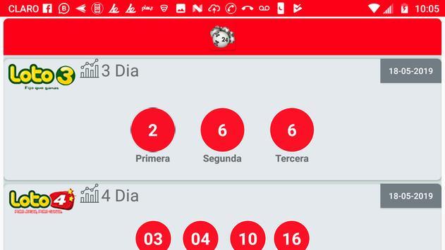 Resultados de Loterías Chile screenshot 4