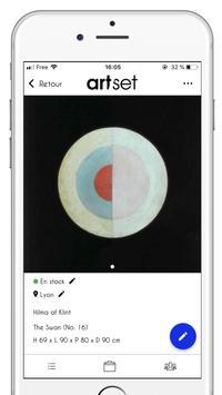 Artset | Gestion des Galeries et Collections d'Art скриншот 1