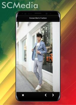 Korean men's fashion style casual screenshot 3