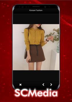 Korean women's style of dress poster