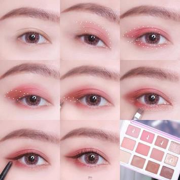 Popular Korean eye makeup screenshot 1