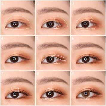 Popular Korean eye makeup screenshot 2