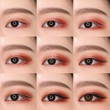 Popular Korean eye makeup screenshot 3