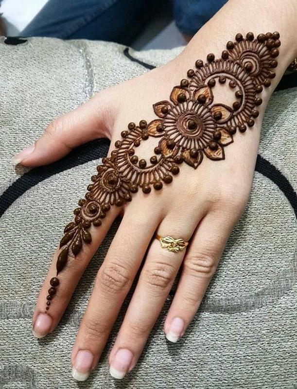 Motif Henna Tangan Simple Dan Cantik For Android Apk Download