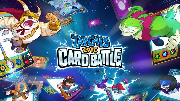 Tap Cats: Epic Card Battle (CCG) تصوير الشاشة 6