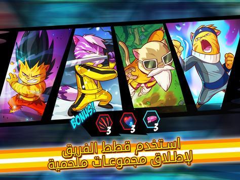 Tap Cats: Epic Card Battle (CCG) تصوير الشاشة 9