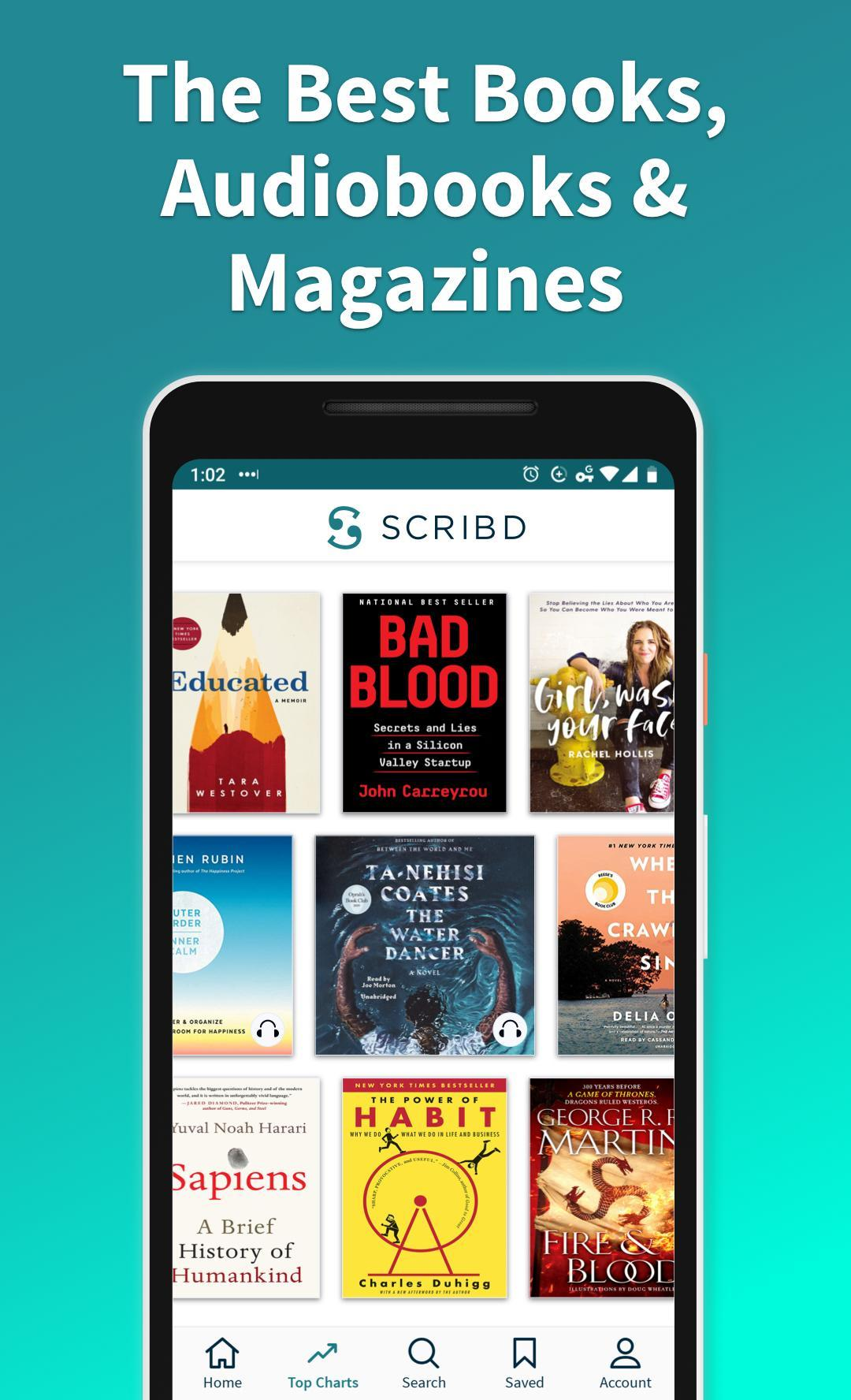 Scribd for Android - APK Download