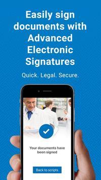Scriptabl Signing Application poster