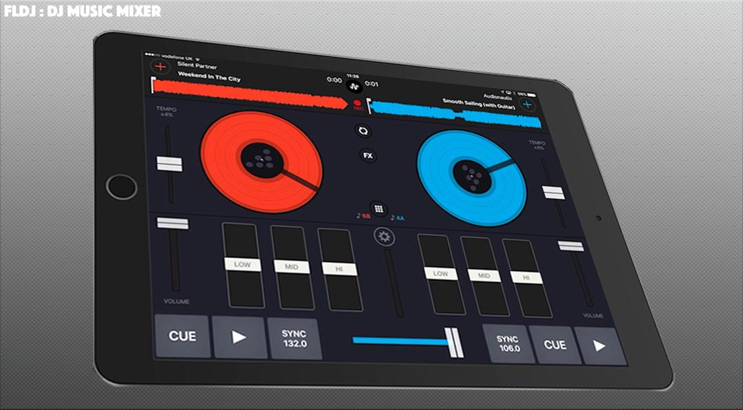 VIRTUAL FLDJ STUDIO - Djing & Mix your music for Android