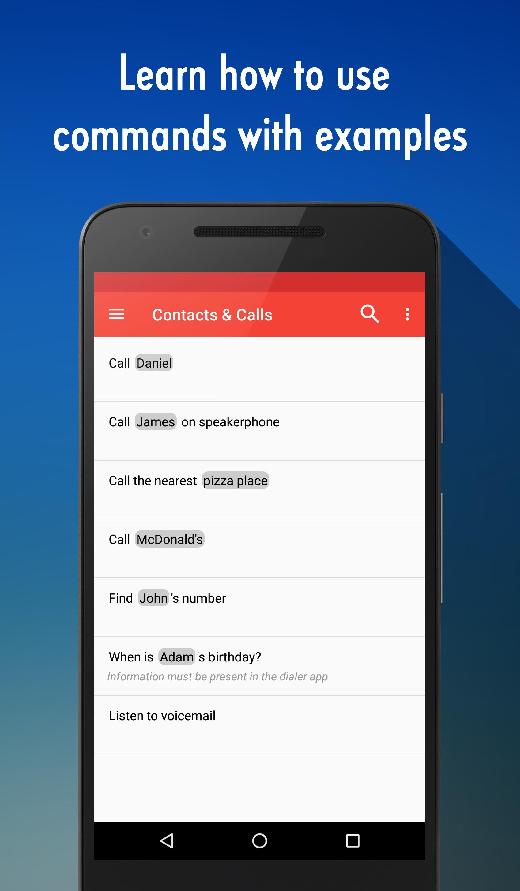 OK Google Voice Commands (Guide) for Android - APK Download