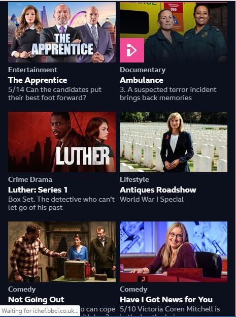 BBC One Iplayer News poster