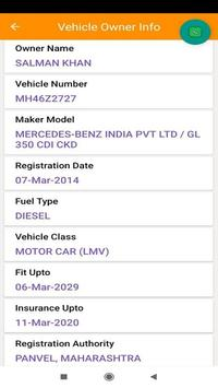 Delhi Traffic Info - Find Vehicle Challan screenshot 2