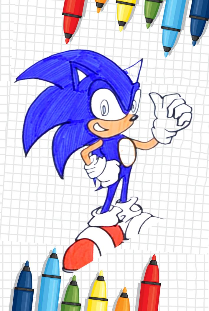 21 Sonic The Hedgehog Coloring Pages - Free Printable | 1054x709