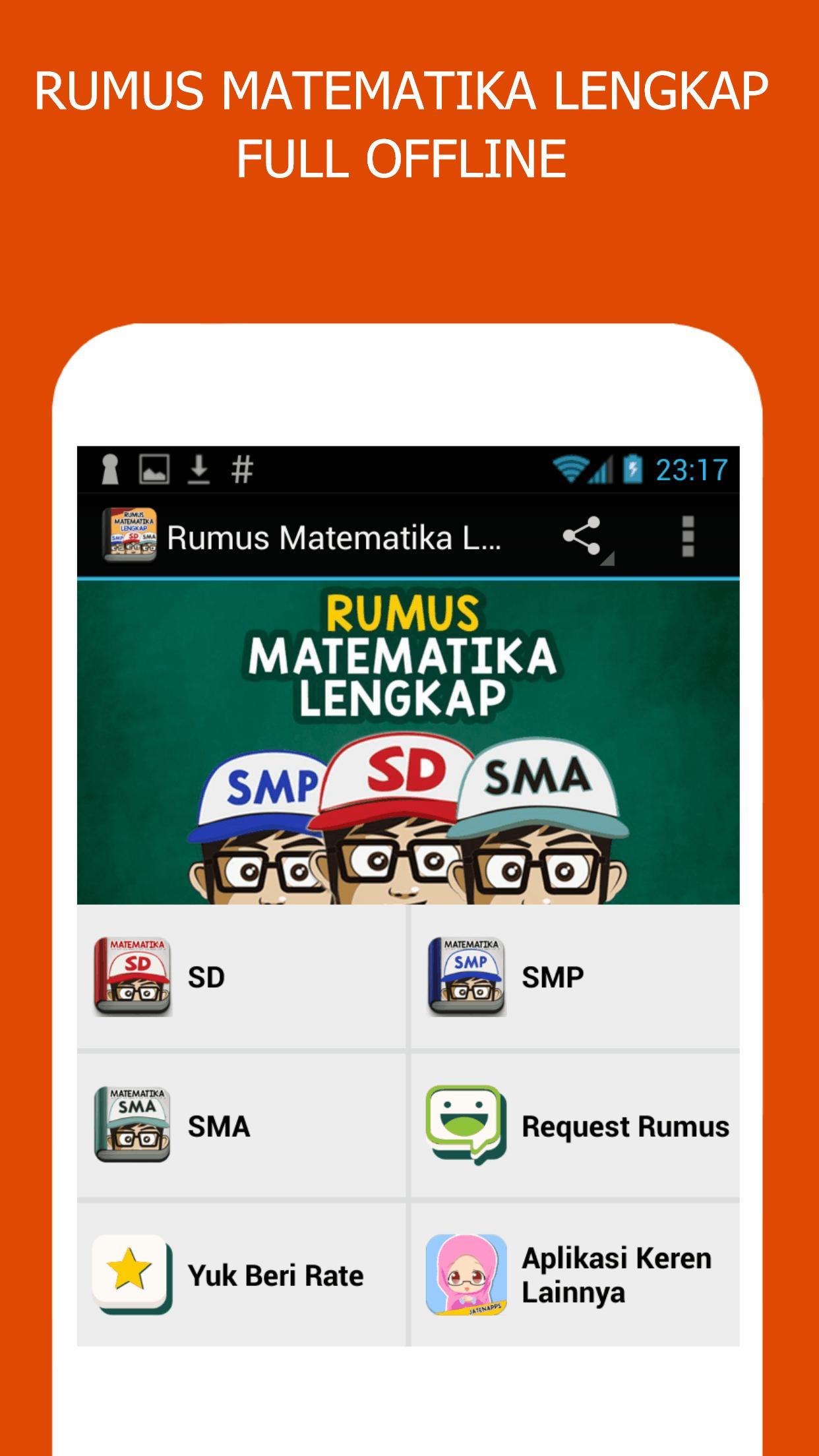 Rumus Matematika Sd Smp Sma For Android Apk Download