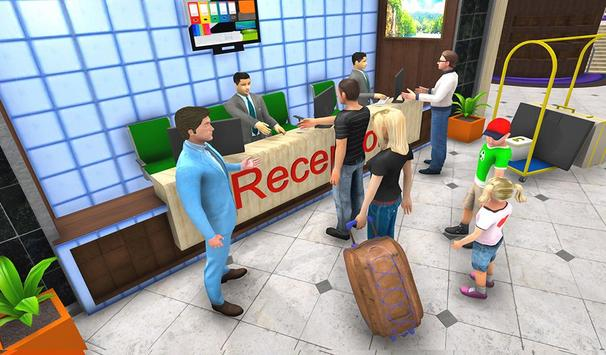 Virtual Hotel Manager Restaurant Job Simulator poster