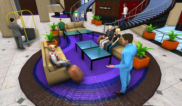Virtual Hotel Manager Restaurant Job Simulator screenshot 1