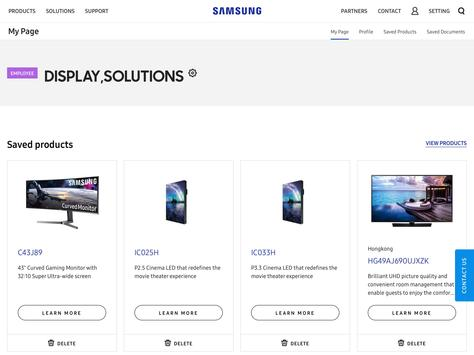 SAMSUNG Display Solutions 스크린샷 9