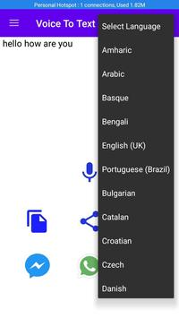 Voice To Text (multi language  voice to text) screenshot 2