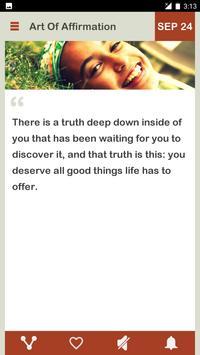 Art Of Affirmation Daily скриншот 3