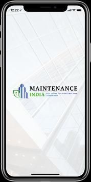 Maintenance poster