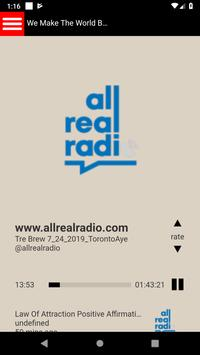 All Real Radio poster