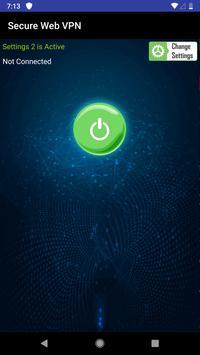 Secure Web VPN Ekran Görüntüsü 3