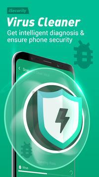Antivirus, Virus Cleaner, Super Clean - iSecurity स्क्रीनशॉट 1