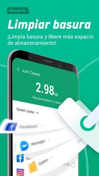 Antivirus, Virus cleaner, Super limpio - iSecurity captura de pantalla 2