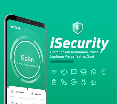 iSecurity: Antivirus, Pembersih Virus, Hapus Virus poster