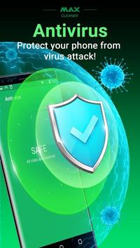Virus Cleaner, Antivirus, Cleaner (MAX Security) poster