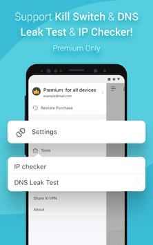 X-VPN screenshot 2