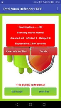 Total Antivirus Defender FREE スクリーンショット 10