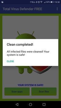 Total Antivirus Defender FREE スクリーンショット 6