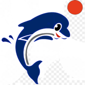 Dolphin With Ball icon
