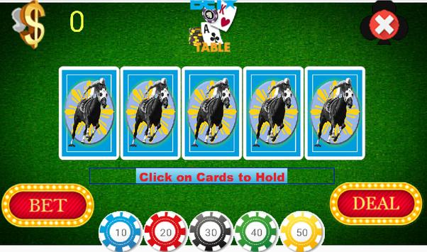 Jacks or Better Video Poker screenshot 1