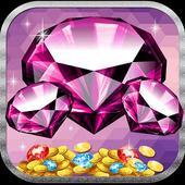 Diamond party casino icon