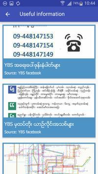 Yangon Bus (YBus) screenshot 5