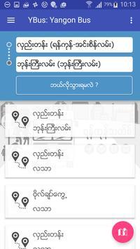 Yangon Bus (YBus) poster