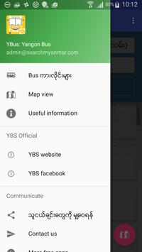 Yangon Bus (YBus) screenshot 1