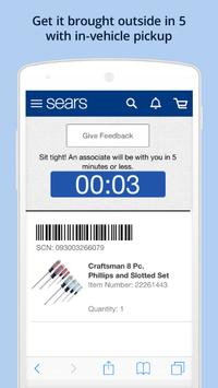 Sears screenshot 3