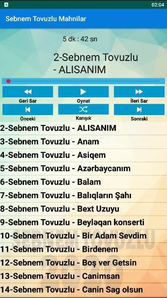 Sebnem Tovuzlu Mahnilar For Android Apk Download