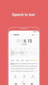 Samsung Voice Recorder imagem de tela 2