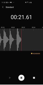 Samsung Voice Recorder imagem de tela 6
