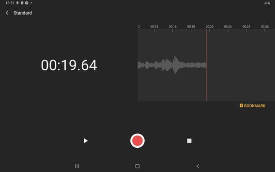 Samsung Voice Recorder imagem de tela 7