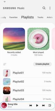 Samsung Music Screenshot 3