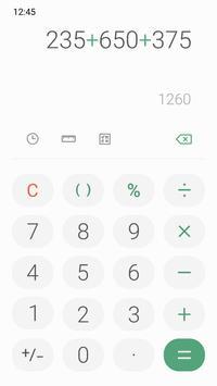 Samsung Calculator Ekran Görüntüsü 3