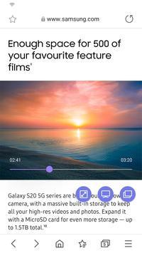 Samsung Internet screenshot 3
