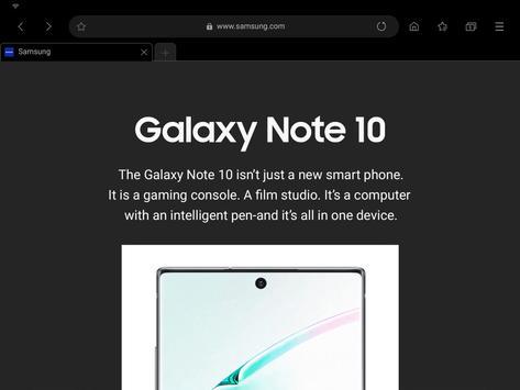 Samsung Internet screenshot 10