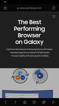 Samsung Internet скриншот 6
