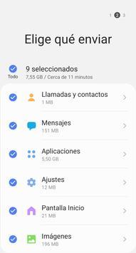 Samsung Smart Switch Mobile captura de pantalla 3
